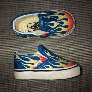 Fire blue toddler vans🔥